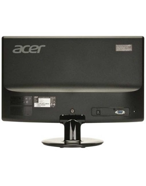 Acer 21-back of monitor