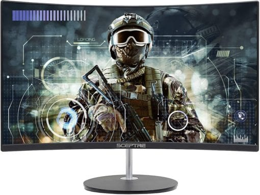 Sceptre Monitor-Curved-Gaming PC View