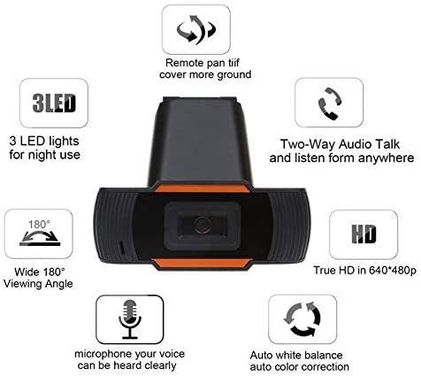 HD Webcam 1080P Streaming Web Cam Specs